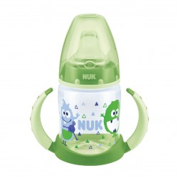 NUK Assorted color cups First Choice PP Learner Bottles (6-18 months)