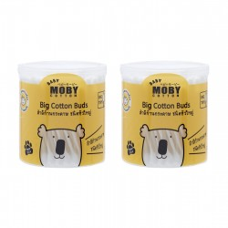 Baby Moby Big Cotton Buds (2 ea)