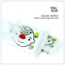 TinyNose Natural Saline wipe for stuffy nose 50 pad
