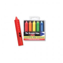 Toybies Learning Mat Crayons – Wipe-off!
