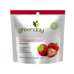 Greenday Crispy Strawberry 12g.