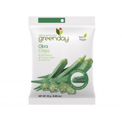 Greenday Okra Chips 25g.