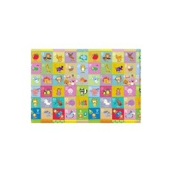 comflor Play Mat PVC size 210 x 140 x 1.3 cm Pingko Friends-A-Z