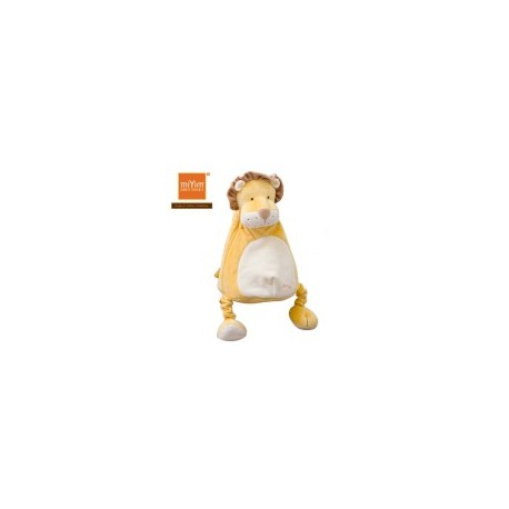 Miyim Organic Soft Toy Backpack Lion with line