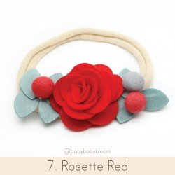 Babybloom Rosette Red