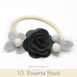 Babybloom Rosette Black