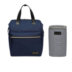 Colorland Thailand Maternity Diaper Bag + Free Cooler Bag (Free Shipping) (Navy Blue)