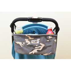 Leeya Storage Bag for Stroller - Military Grey