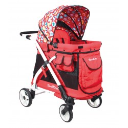 Familidoo Multi Function Play Cart MJ01 Tiger Red