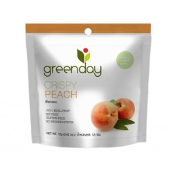 Greenday Crispy Peach 12 g.