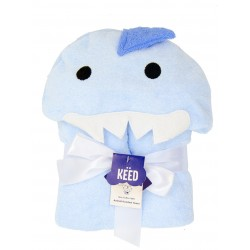 KEED hooded towel - SHARK