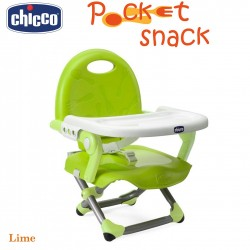 Chicco Pocket Snack Booster Seat -Lime