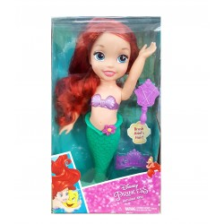 Disney Princess ตุ๊กตา Disney  Bathtime Ariel Doll With Brush