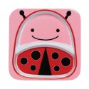 Skip Hop Zoo Divided Plate Ladybug Style