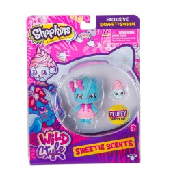 Shopkins ของเล่น S10 Shoppets Pack Asst SWEETIE SCENTS