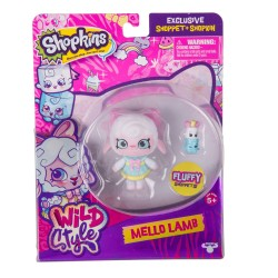 Shopkins ของเล่น S10 Shoppets Pack Asst MELLO LAMB