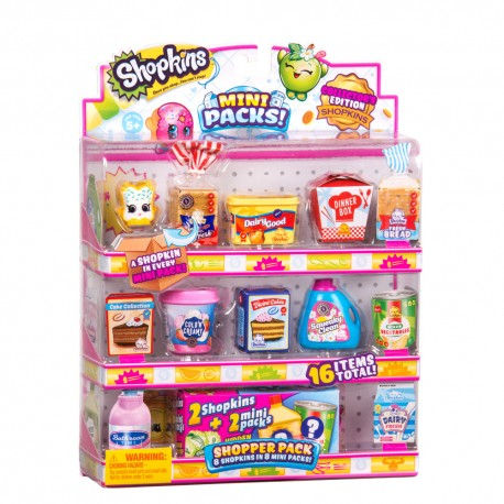 Shopkins ของเล่น S10 Shopper Pack