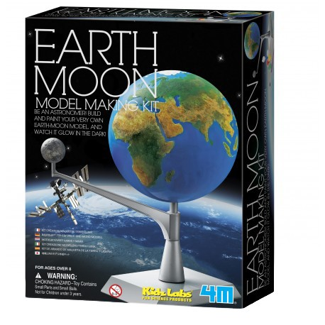4M Kidz Labs-Earth-Moon Model Making Kit