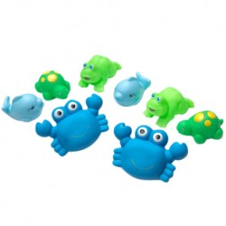 Playgro Bathtime Squirtees (Blue)