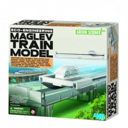 4M ของเล่น Eco Engineering - Maglev Train Model