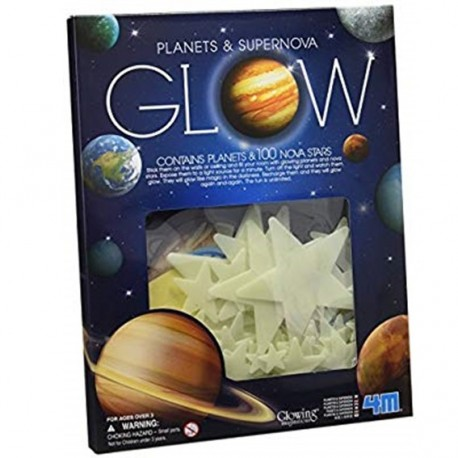 4M ของเล่น Super Nova 100Pcs With Planets