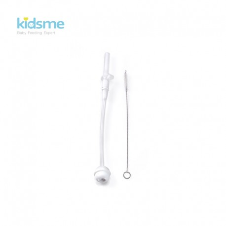Kidsme Weighted Straw Cleaning Brush Set (Tritan)