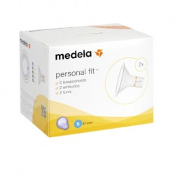 Medela PersonalFit Breastshield 21 mm  with box packaging (size S)