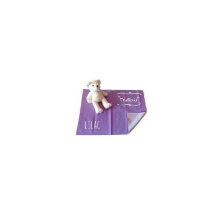 Mellow Quick dry Quick dry Pee Pads, Waterproof Fabric 100% SIZE M (70x100 CM) Lilac