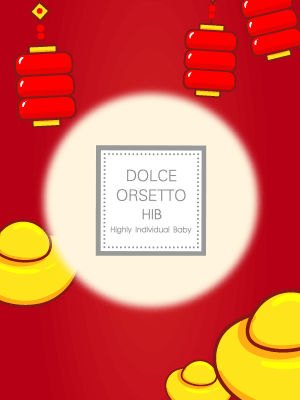 DOLCE ORSETTO PROMOTION