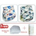 Palm & Pond Water Proof Diapers Pants Fit Most Boy Striped 2 Pack no.10