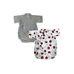 Palm & Pond Japan Style Newborn Suite JINBEI 100% Cotton 2 Pack no. 7