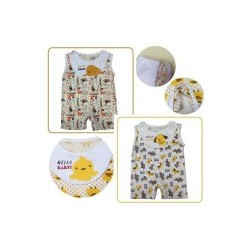 Palm & Pond Babysuit Apron 100% Cotton 2 Pack No.6