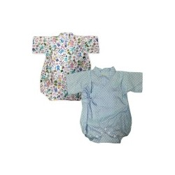 Palm & Pond Japan Style Newborn Suite JINBEI 100% Cotton 2 pack no.22