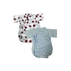 Palm & Pond Japan Style Newborn Suite JINBEI 100% Cotton 1 pack 2 ea no.30