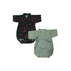 Palm & Pond Japan Style Newborn Suite JINBEI 100% Cotton แพ็ค 2 ตัว รุ่นที่ 65