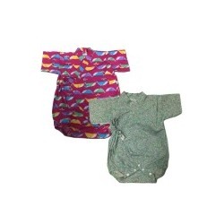Palm & Pond Japan Style Newborn Suite JINBEI 100% Cotton 2pcs/pack no. 41