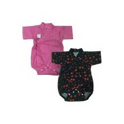 Palm & Pond Japan Style Newborn Suite JINBEI 100% Cotton 2pcs/pack no.56