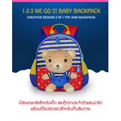 Baby n Goods 1-2-3 We GO !! BABY BACKPACK