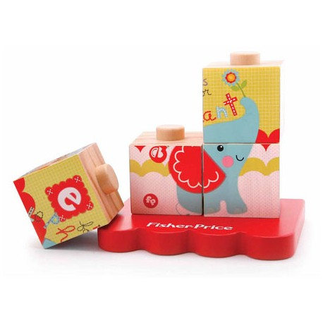 Fisher Price My  Stacking Cubes Puzzle 4 pcs.
