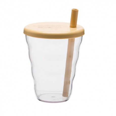 Amo Corn WATER BOTTLE WITH STRAW