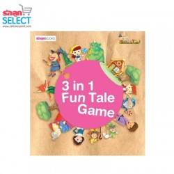 Rakluke Select 3 in 1 Fun Tale Game