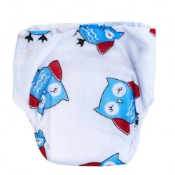 Shawn's Baby Jump Diaper Pants Owl cartoon