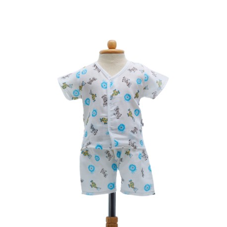 Shawn's Baby Short sleeve shirt with shorts Animal cartoon (size S)