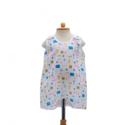 Shawn's Baby Baby Sleeveless Dress Cartoon Tools
