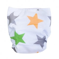 Shawn's Baby Baby Diaper Pants Star Cartoon Orange-green