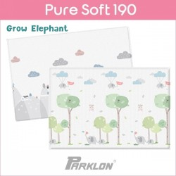 PARKLON Pure Soft Play Mat Size 130x190x1.2cm (Grow Elephant)