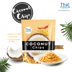 Thai Coco Coconut Chips Spicy Cheese Flavour