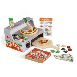 Toybies Top & Bake Pizza Counter