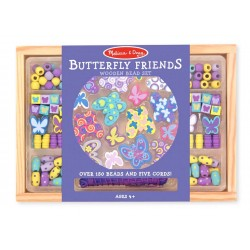 Toybies ของเล่นไม้ Wooden Bead Set Butterfly Friends