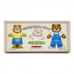 Toybies Bear Family Dress-up Puzzle